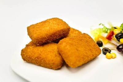 CROQUETTES FROMAGE JALAPEÑOS (4PCS)