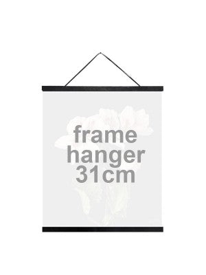 Wooden poster hanger - 2 sizes available