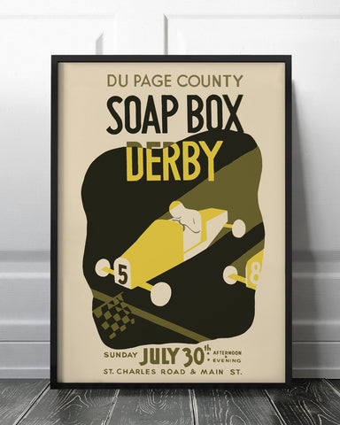 Soap Box Derby Print