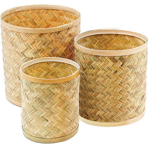 Bamboo Planters - 3 Sizes Available