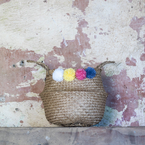 Pom Pom Brights Medium Storage Basket