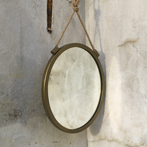 Brass Jena Rope Mirror - second