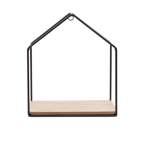 Metal house shelf