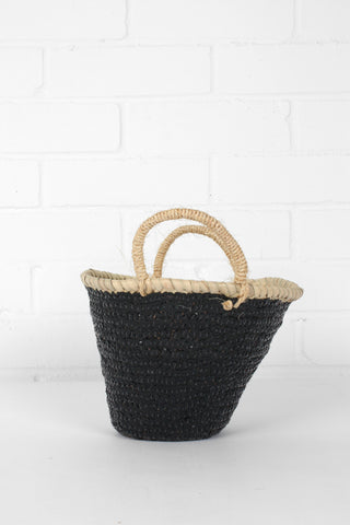 Black Sequin Basket - 2 Sizes Available