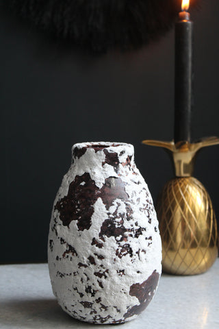 Leena Black & White Vase - 1 left