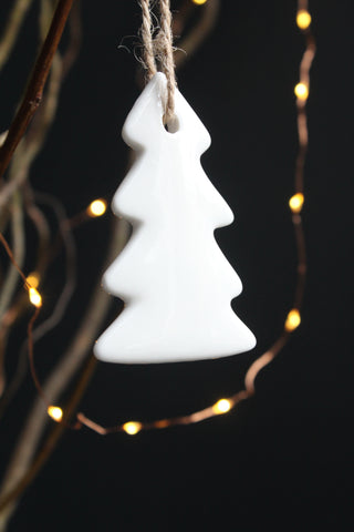 Porcelain  Tree Christmas Decoration