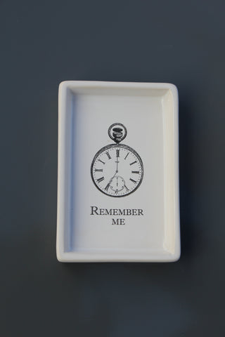 """Remember Me"" Trinket Dish"