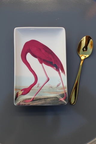 Vegan Friendly Flamingo Trinket Dish
