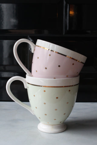 Pastel Spotted Mug - 3 Colours Available