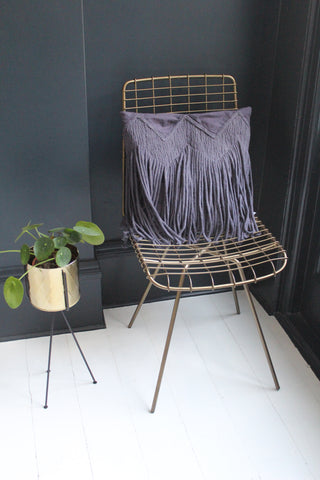 Fringe Cushion -2 colours available