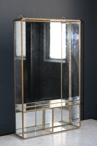 Glass Mirror Cabinet