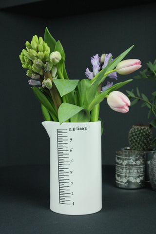 Porcelain White Measuring Jug