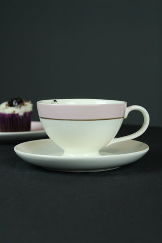 Miss Etoile Butterfly Pastel Large Tea Cup & Saucer - 3 Colours Available