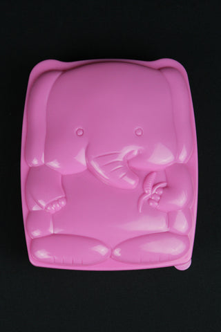 RICE DK - Elephant Kids Lunch Box With Cutlery