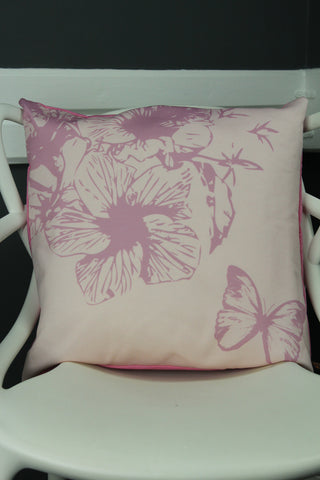 Butterfly Cushion - Pink