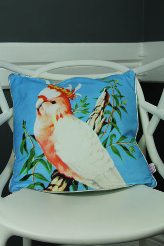 Cockatoo Bird Cushion -50cm