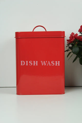 Bloomingville Dishwasher Powder Storage Tin