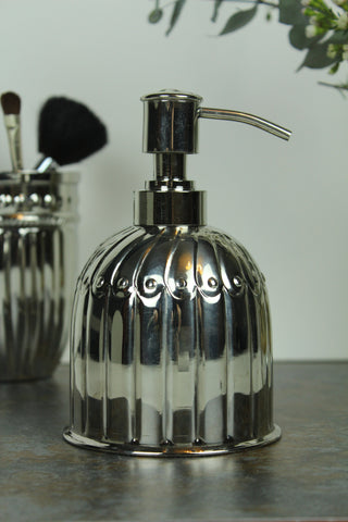 Vintage Style Metal Soap Dispenser
