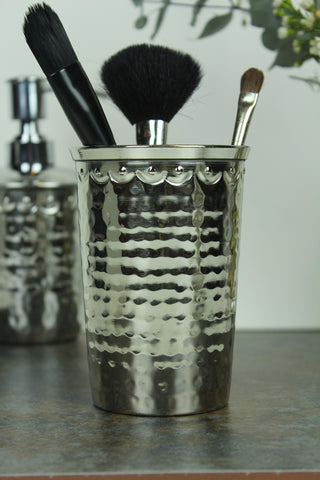 Hammered Metal Tooth Mug