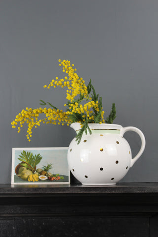 Pastel Spotted Large Jug - 3 Colours Available