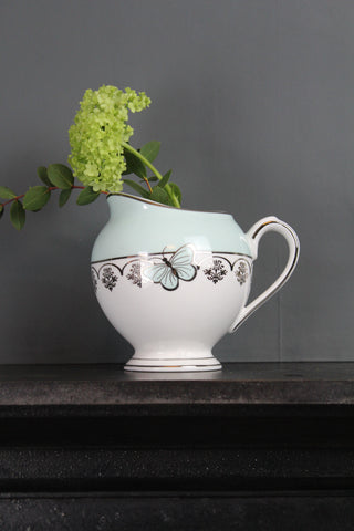 Vintage Style Butterfly Jug