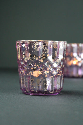 Rose Glass Tealight