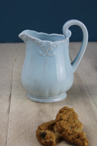 Bombay Duck Ceramic Vintage Style Jug - 3 Colours Available