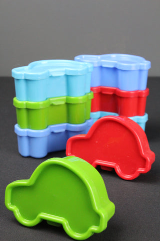 RICE DK Car Shaped Food Storage Containers - Set of 8