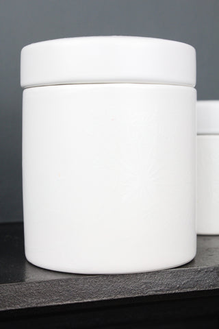 Bloomingville Porcelain Storage Jar - 2 Sizes Available