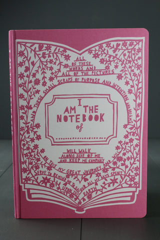 Rob Ryan Pink Notebook