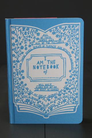 Rob Ryan Blue Notebook