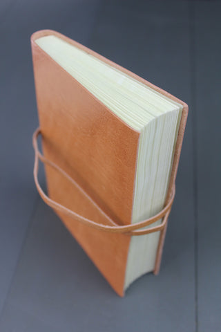 Handmade Fairtrade Leather Journal -A6