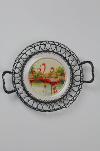 Flamingo Decorative Plate