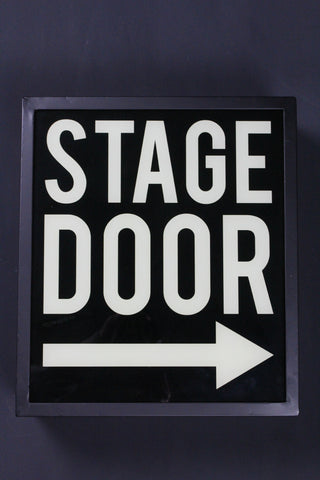 Stage Door Light Box - Second