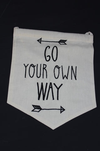 Go Your Own Way Flag