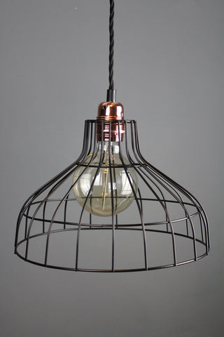 Black Wire Lampshade