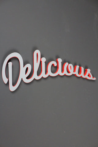 Delicious Wall Sign