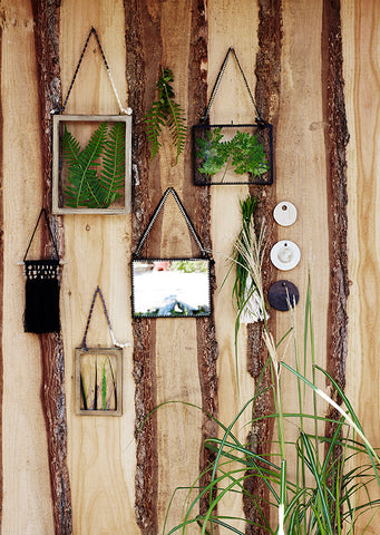 Black Glass Picture Frame
