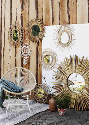 Bamboo Mirror - 2 Styles Available