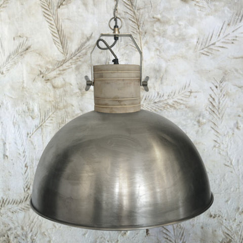Ava Nickel Pendant Light