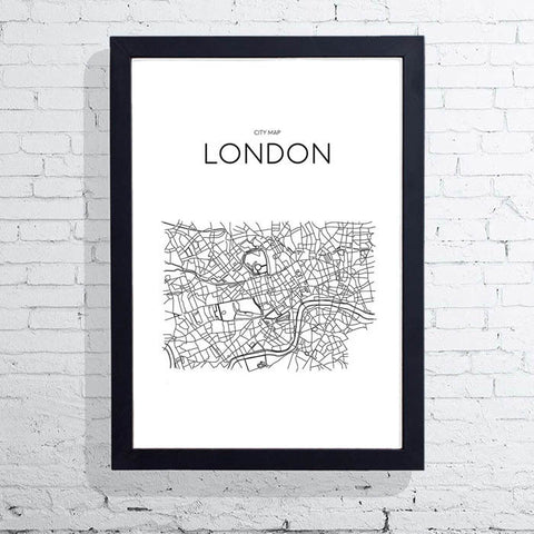 London Map - A3