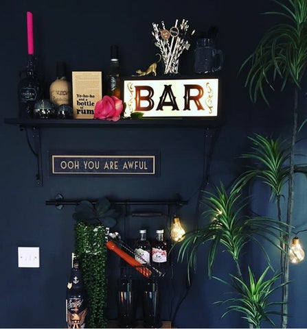 Bar Light Box Styled By You