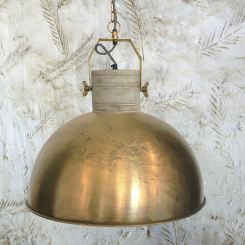 Ava Brass Pendant Light