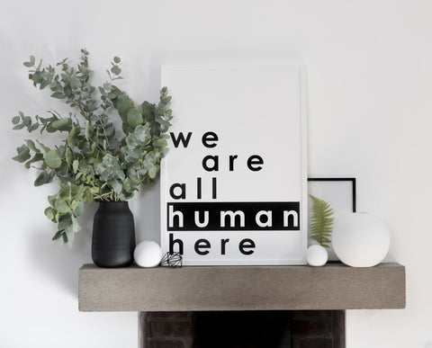 We are all human by Soouk