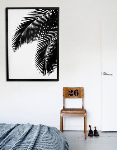 Palm Leaves by Soouk -30cm x 40cm
