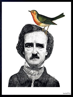 Man With Bird Print