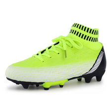 Load image into Gallery viewer, Hawkwell Kids Outdoor Soccer Cleats High-top Sock Ankle Care Performance Soccer Cleats(Toddler/Little Kid/Big Kid)