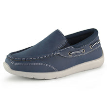 Load image into Gallery viewer, Hawkwell Kids Boys Loafers School Casual Boat Shoes(Toddler/Little Kid)