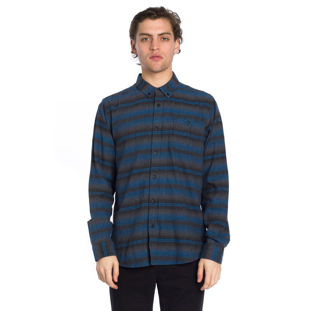 Sanders Long Sleeve Shirt - Charcoal