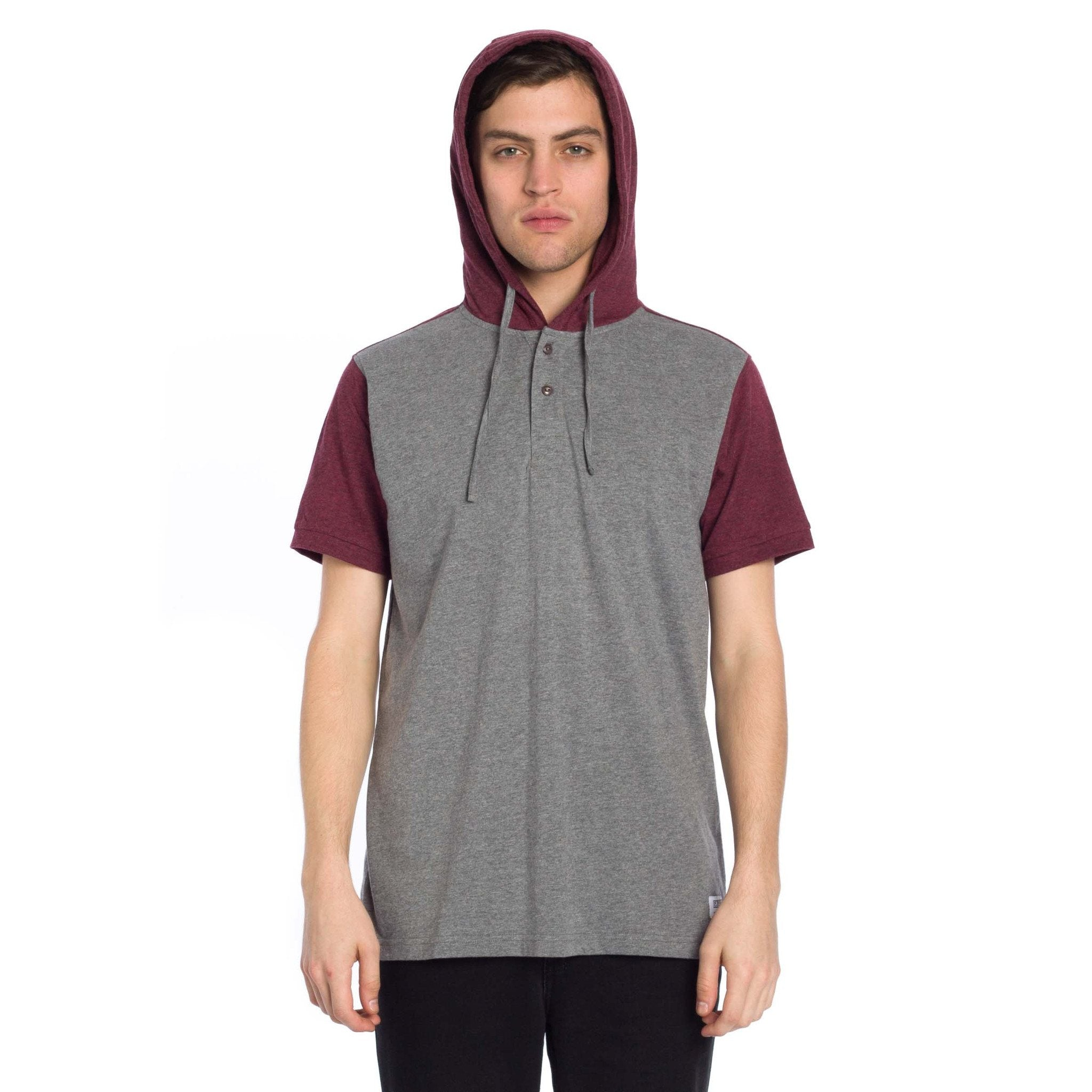 Hyland Hooded Knit - Heather Grey